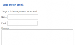 How to Create a Contact Author Form without a Plugin