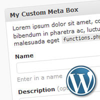 How to Create WordPress Metabox – Tutorial Roundup
