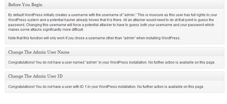 better wp security plugin user1 Protect your Wordpress Website with Better WP Security Plugin
