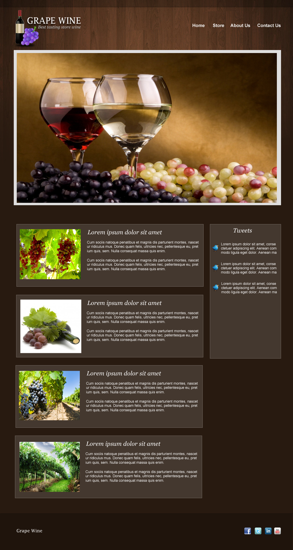 sanjaykhemlani11 How to Create a Wine Design Blog Layout in Photoshop
