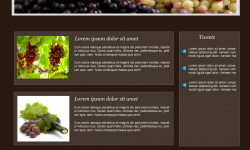 How to Create a Wine Design Blog Layout in Photoshop