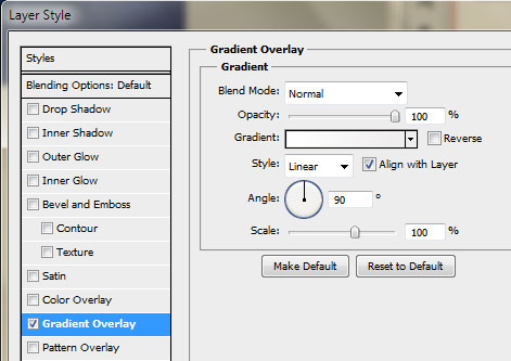 13 mid content gradient settings How to Create an Iphone App Website in Photoshop