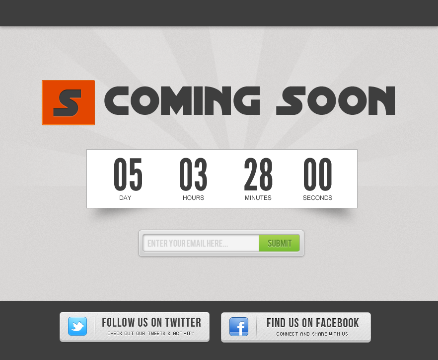 sanjaykhemlani.com coming soon psd Create a Coming Soon Page with Countdown Timer