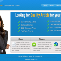 How to Create an Article Website Design in Photoshop