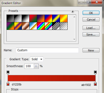 39 footer newsletter button gradient color settings How to Create a Sleek Portfolio Layout in Photoshop