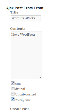10 Wordpress Front end Posting Plugins and Tutorials