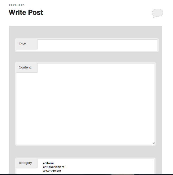 screenshot 1 Wordpress Front end Posting Plugins and Tutorials