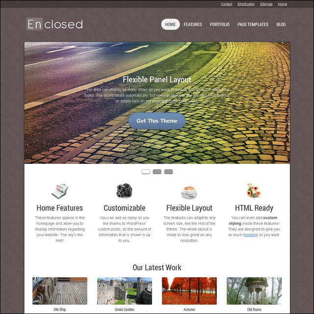 enclosed 40+ Free Responsive Wordpress Themes