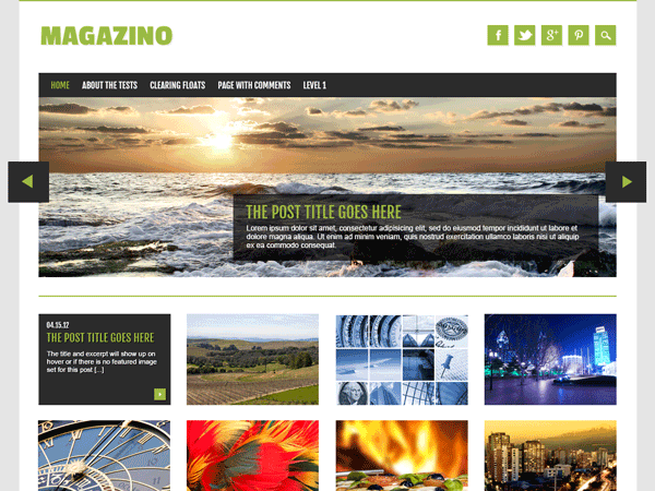 magazino 40+ Free Responsive Wordpress Themes