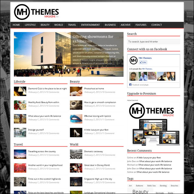 mh.magazine.wordpress.theme  40+ Free Responsive Wordpress Themes