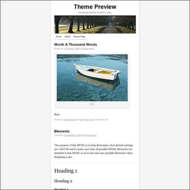 twentyxs 40+ Free Responsive Wordpress Themes
