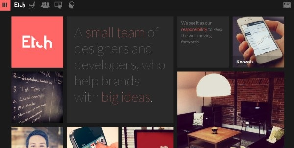 FlatWebDesign 22 20+ Flat Designs Website Collection