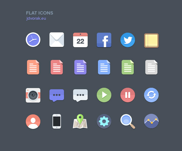 13 20+ UI Kits for Your Flat Web Designs Ideas