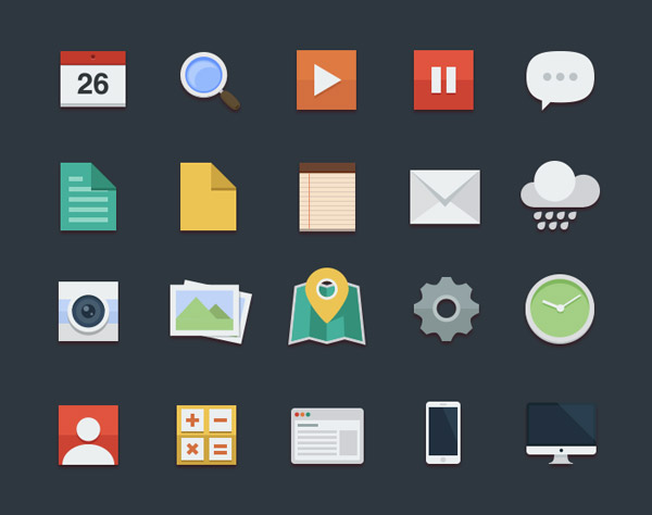 14 20+ UI Kits for Your Flat Web Designs Ideas