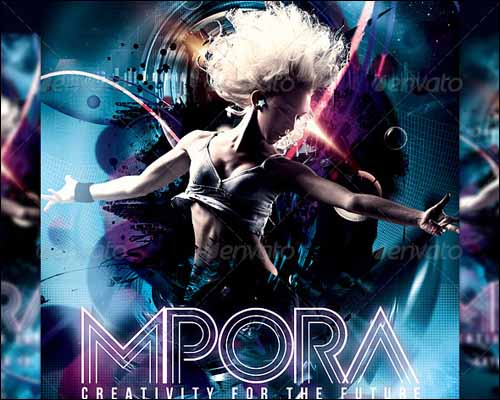 mpora flyer template 20+ Free Photoshop PSD Flyer Templates