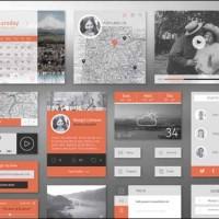 30+ Best Free Photoshop PSD UI Kits
