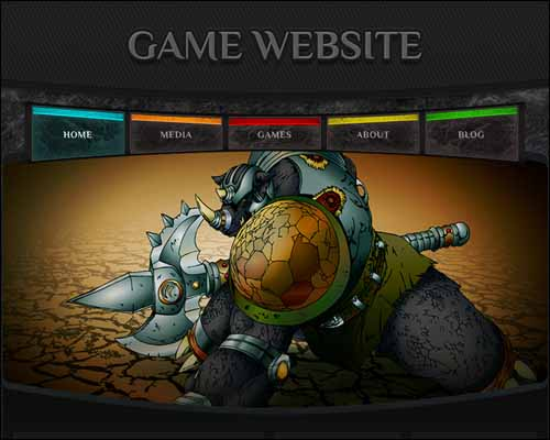 Game Free HTML5 Website Template 20+ Best Free Responsive HTML5 / CSS3 Templates