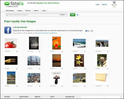 fotolia 30+ Free Royalty Stock Photos Websites