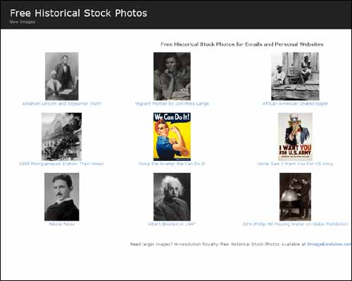 historicalstockphotos 30+ Free Royalty Stock Photos Websites