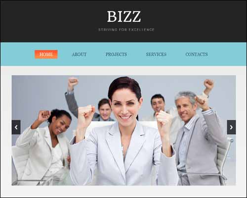 zBizz Free Responsive HTML5 Template 20+ Best Free Responsive HTML5 / CSS3 Templates