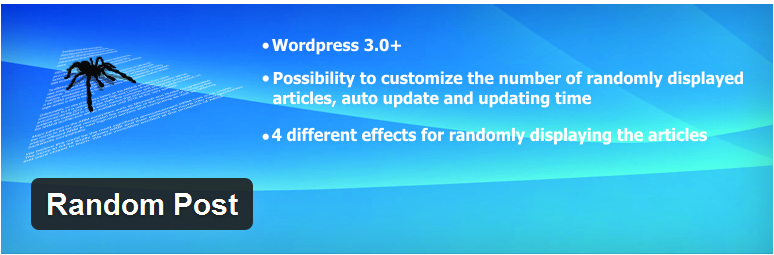 random wordpress post How to Display Wordpress Random Post in your Theme