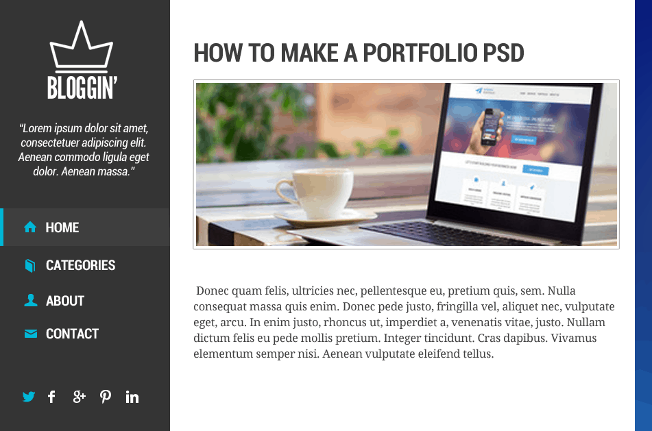 101 How to Make Blog Layout in Photoshop