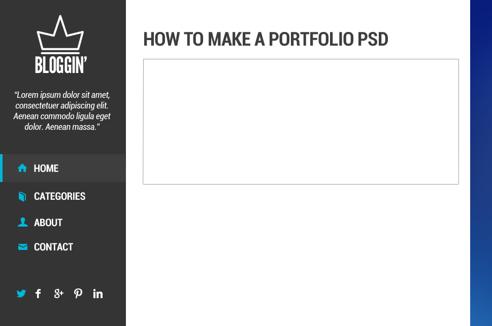 91 How to Make Blog Layout in Photoshop